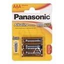 Panasonic Bateria alkaliczna AAA LR03APB/4BP blist