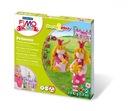 Zestaw FIMO Kids Form & Play KSIĘŻNICZKI