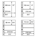 Leuchtturm - Karta typu Grande 1C - 3C do wyboru