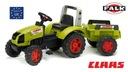 FALK Traktor CLAAS ARION 430 przyczepa 3-7 lat