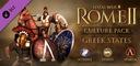 Total War Rome II 2 Greek States STEAM FIRMA 24/7