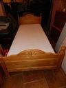 Łóżko drewniane 90x200 kompletne