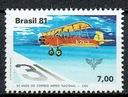 1210 ** czyste Brazylia 1833 samolot