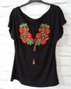 24H- haftowana bluzka góralska kwiaty folk S/M