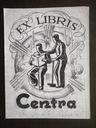 Ex-Libris biblioteka fabryki Centra, Poznań l.30e