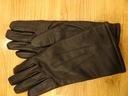 rękawice skórzane męskie rozmiar 23
