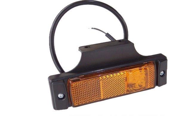 Lampa obrysowa boczna z wieszakiem LD128