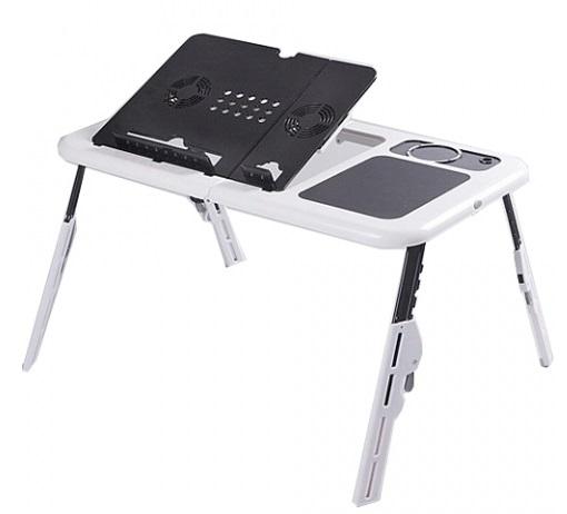 Przenośny Stolik Pod Laptop Biurko Składane Usb