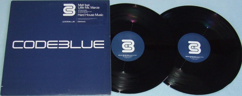 MELT / LITTLE Ms MARCIE Hard House Music 2x12'' DJ