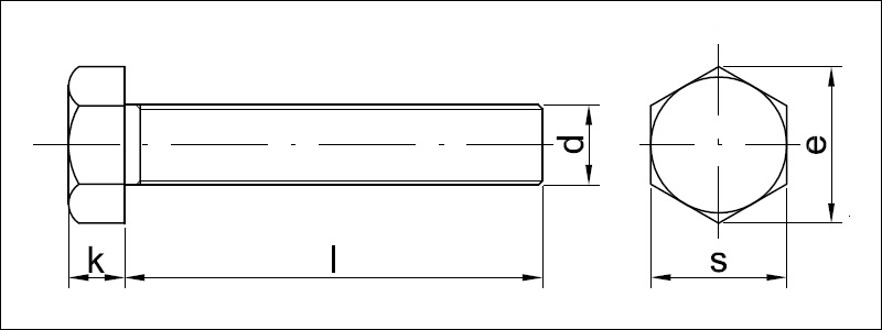 ŚRUBA M10 GWINT
