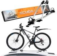 Bagażnik uchwyt rowerowy dachowy AGURI Acuda II 2