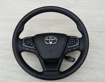 Черный Skórzana РУЛЬ Toyota Avensis T29 15-