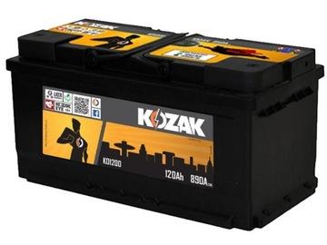 акумулятор kozak ko1200 120ah/950a [sae] 120ah - фото
