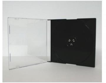 КОРОБКИ ДЛЯ 1 CD/DVD SLIM, 5 ММ, 100 ШТ ЧЕРНЫЙ BOX доставка товаров из Польши и Allegro на русском