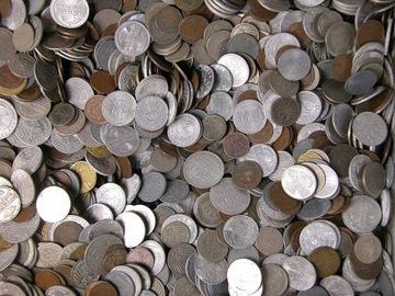 ГЕРМАНИЯ - ДОВОЕННЫЕ монеты - 1 КИЛОГРАММ - 1 Кг доставка товаров из Польши и Allegro на русском