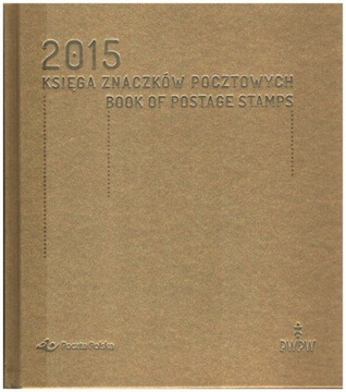 Книга почтовых марок - Год выпуска 2015 доставка товаров из Польши и Allegro на русском