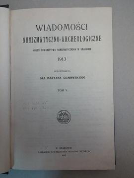 K971 Сообщение Numizmatyczno-Археологический 1913-1915 доставка товаров из Польши и Allegro на русском