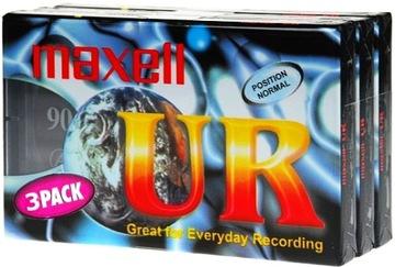 Кассета Maxell UR 90 лента музыка доставка товаров из Польши и Allegro на русском