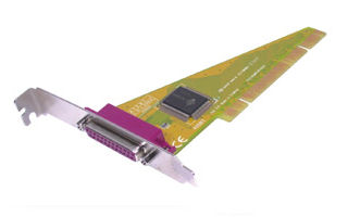 карта / контроллер PCI Parallel x1 (принтер LPT) доставка товаров из Польши и Allegro на русском