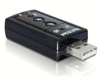 КАРТА МУЗЫКАЛЬНАЯ ЗВУКОВАЯ USB 7.1 доставка товаров из Польши и Allegro на русском