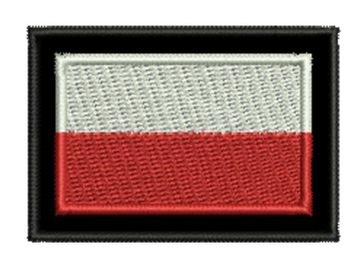 Полоса Флаг Польский 55x38mm без репа доставка товаров из Польши и Allegro на русском