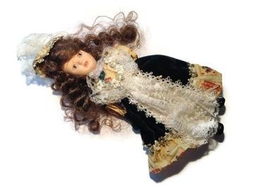 Какая красивая кукла все фарфоровая 25см доставка товаров из Польши и Allegro на русском