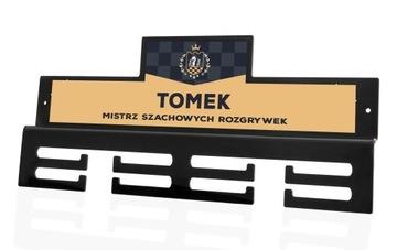 Вешалка на медали MEDALÓWKĄ ИМЯ, пока вы боретесь доставка товаров из Польши и Allegro на русском