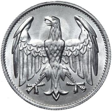 Германия - 3 Марки 1922 A - БЕЗ НАДПИСИ - СОСТОЯНИЕ UNC доставка товаров из Польши и Allegro на русском