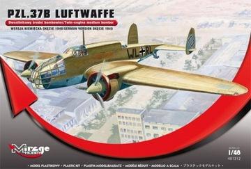 PZL.37B Los Люфтваффе, Mirage Hobby 481312 1:48 доставка товаров из Польши и Allegro на русском