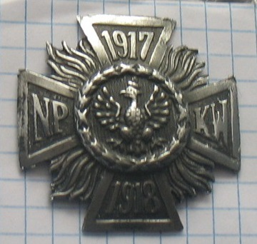 значок 1917 1918 NP КВТ доставка товаров из Польши и Allegro на русском