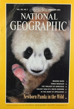 National Geographic vol 183 no 2 February 1993 ANG доставка товаров из Польши и Allegro на русском