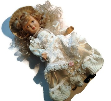 Какая красивая кукла все фарфоровая /7 доставка товаров из Польши и Allegro на русском