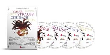 В СТРАНЕ ОПЕРЕТТЫ компл.4 x CD ПЛЕНКА Zeller Кальман доставка товаров из Польши и Allegro на русском