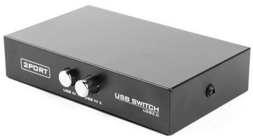 Switch USB Gembird выключатель drukarkowy USB 2/1 доставка товаров из Польши и Allegro на русском