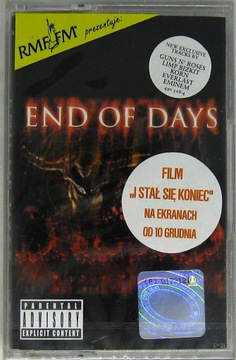 END OF DAYS {I Stał Się Koniec} Prodigy,Korn, [MC] доставка товаров из Польши и Allegro на русском