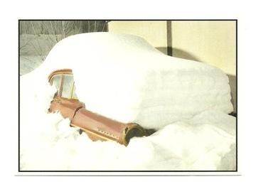 Открытка - Снежный зимний автомобиль мечты ... доставка товаров из Польши и Allegro на русском