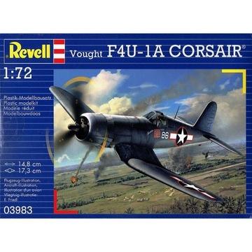 REVELL 03983 - Vought F4U-1A Corsair 1/72 доставка товаров из Польши и Allegro на русском