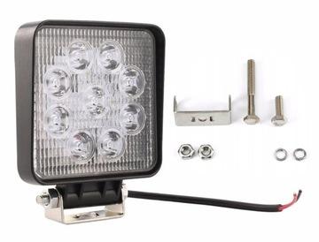 Lampa 9 LED halogen roboczy szperacz 27W 12V 24V
