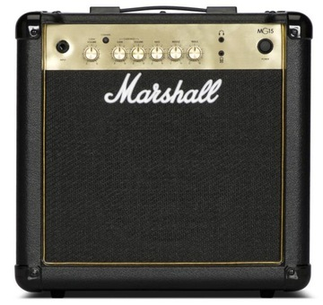 Marshall MG15 G Gold Guitar Amplifier 15W!
