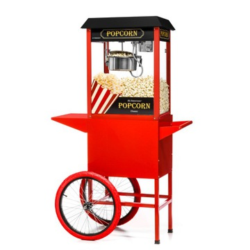 Popisovanie Stroj pre Popcorn s Trolley FG09301