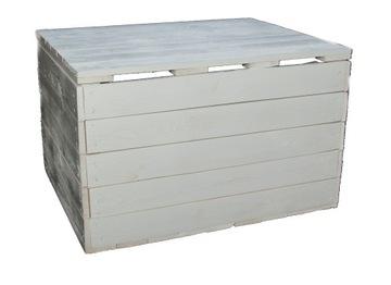 Drevený box zatvorený na výrobcu kolies!