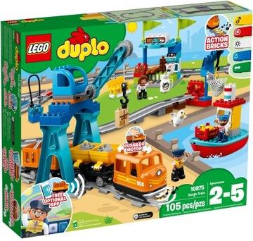 LEGO® Stavebnice DUPLO Nákladný vlak 10875
