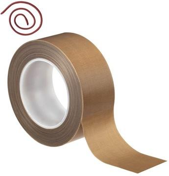 Teflónová páska pre zvárací stroj. Bezpečnosť 260 * C 60mm