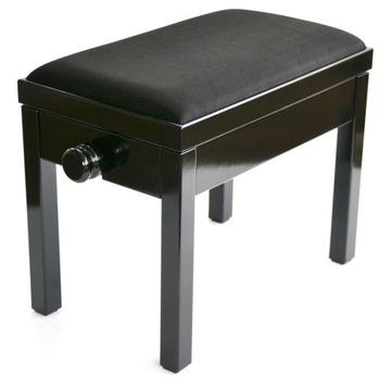 Drevená lavica pre Sonata Piano Black Leather Muse