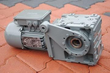 Uhol Gearmotor 0,25kW. 25.3. Brzda