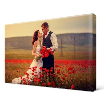 Foto-Obraz 50x40cm Darček k fotografii na Valentína