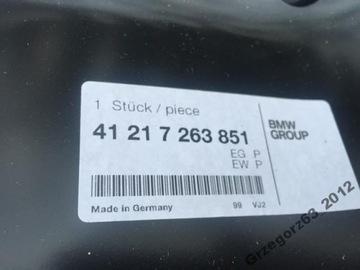 BMW F13 NOVÝ BLATNÍK ZADNÍ LEVÝ WEW ORIGINÁLNÍ
