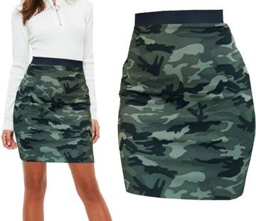 SPÓDNICA mini, na gumce, w Spódnice i spódniczki Moda