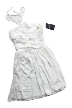 sukienka biurowa czarna spódnica biała bluzka zara xs vinted