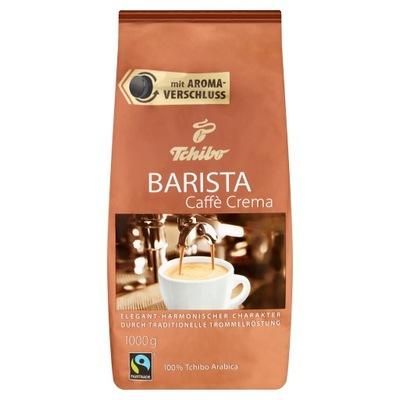 Tchibo Barista кофе ? зернах Caffe Crema 1кг